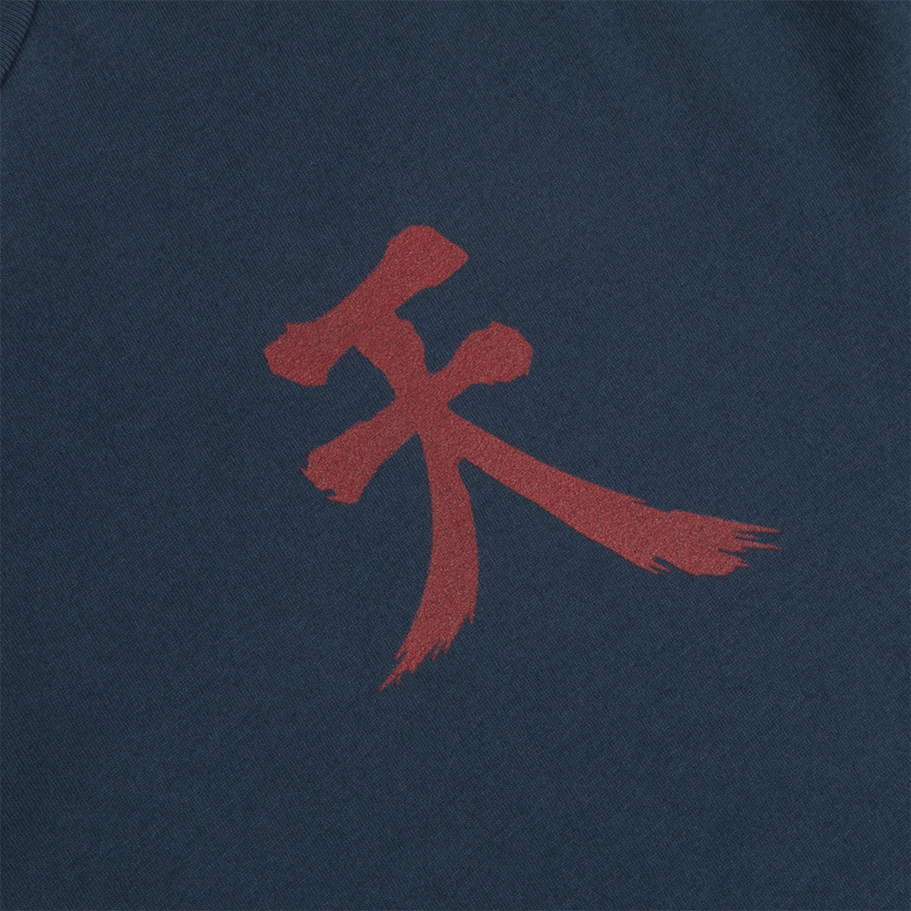 Street Fighter Akuma Raging Demon Navy Tee