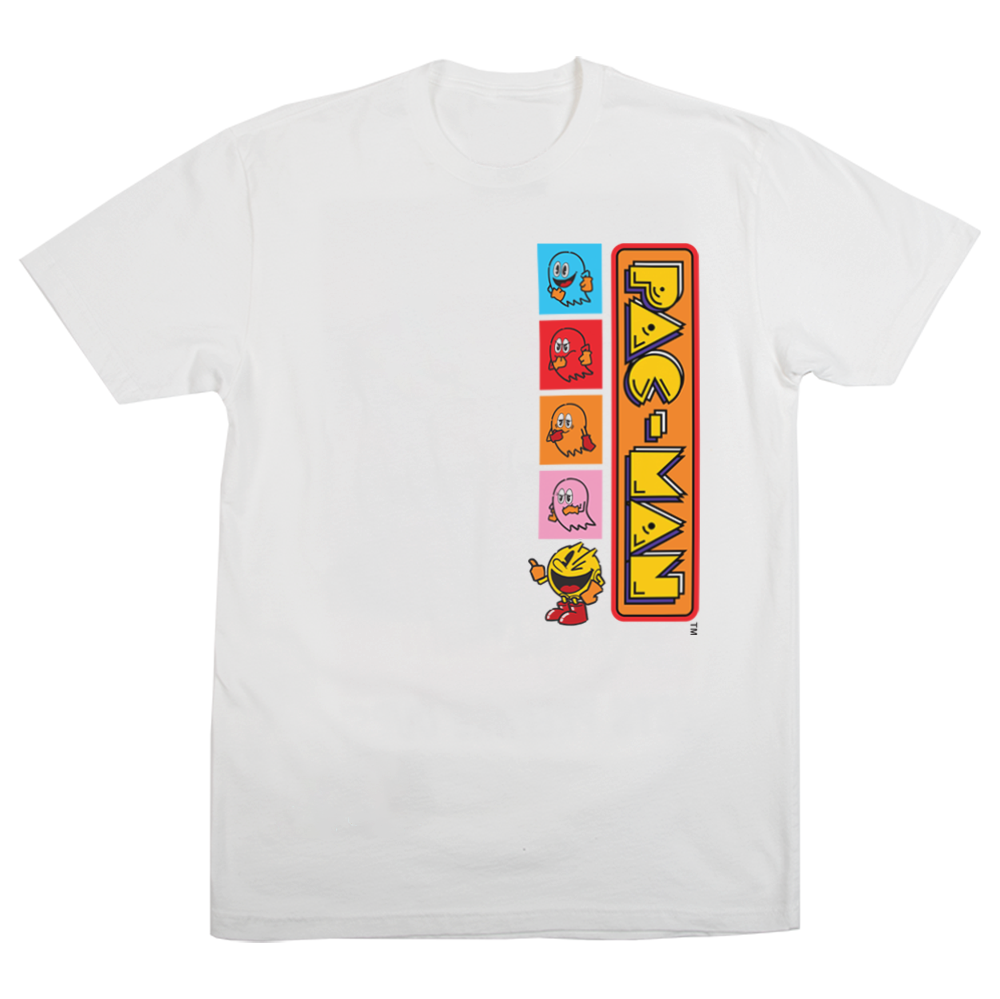 Pac-Man Blinky, Pinky, Inky and Clyde Tee