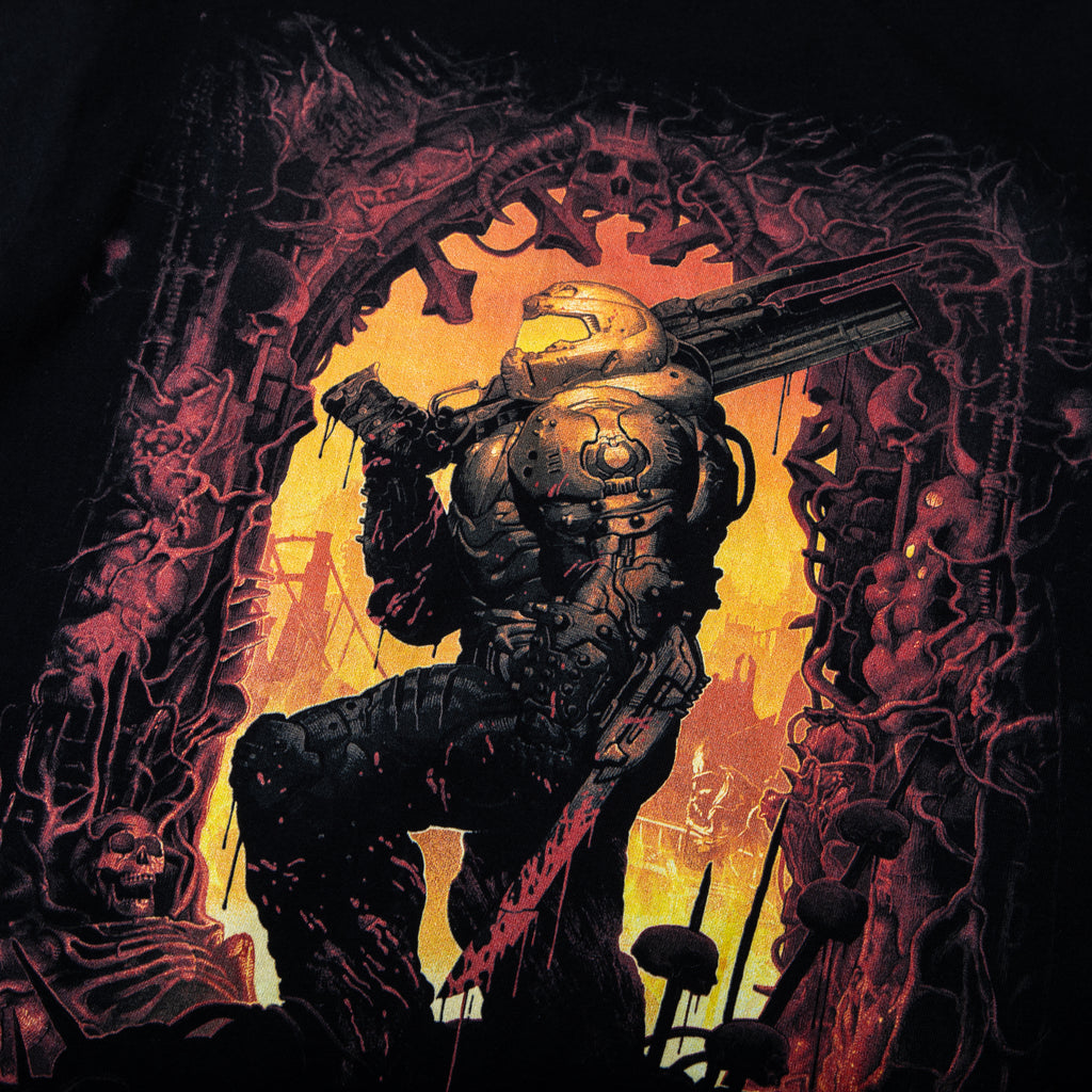 Doom Slayer Black Tee