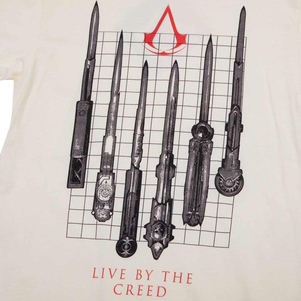 Assassin's Creed Knives Out Natural Tee