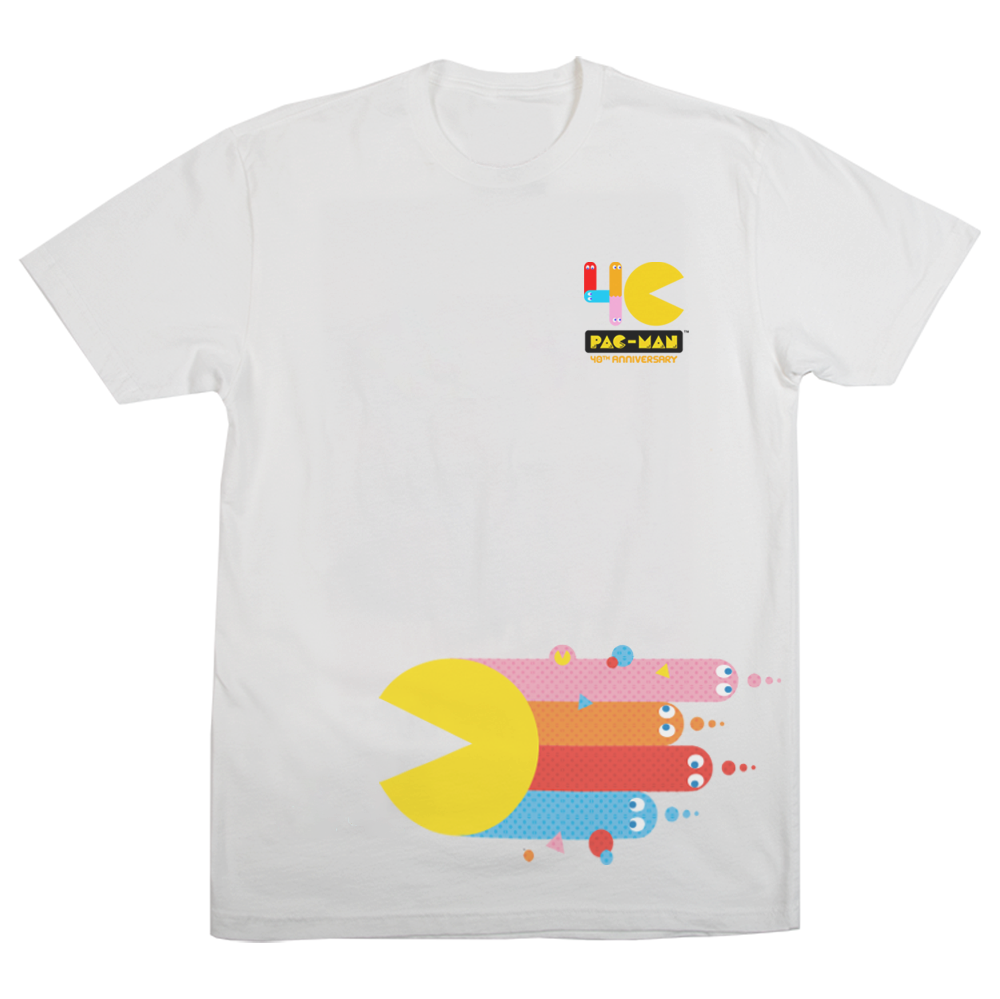 Pac-Man 40th Dash Tee