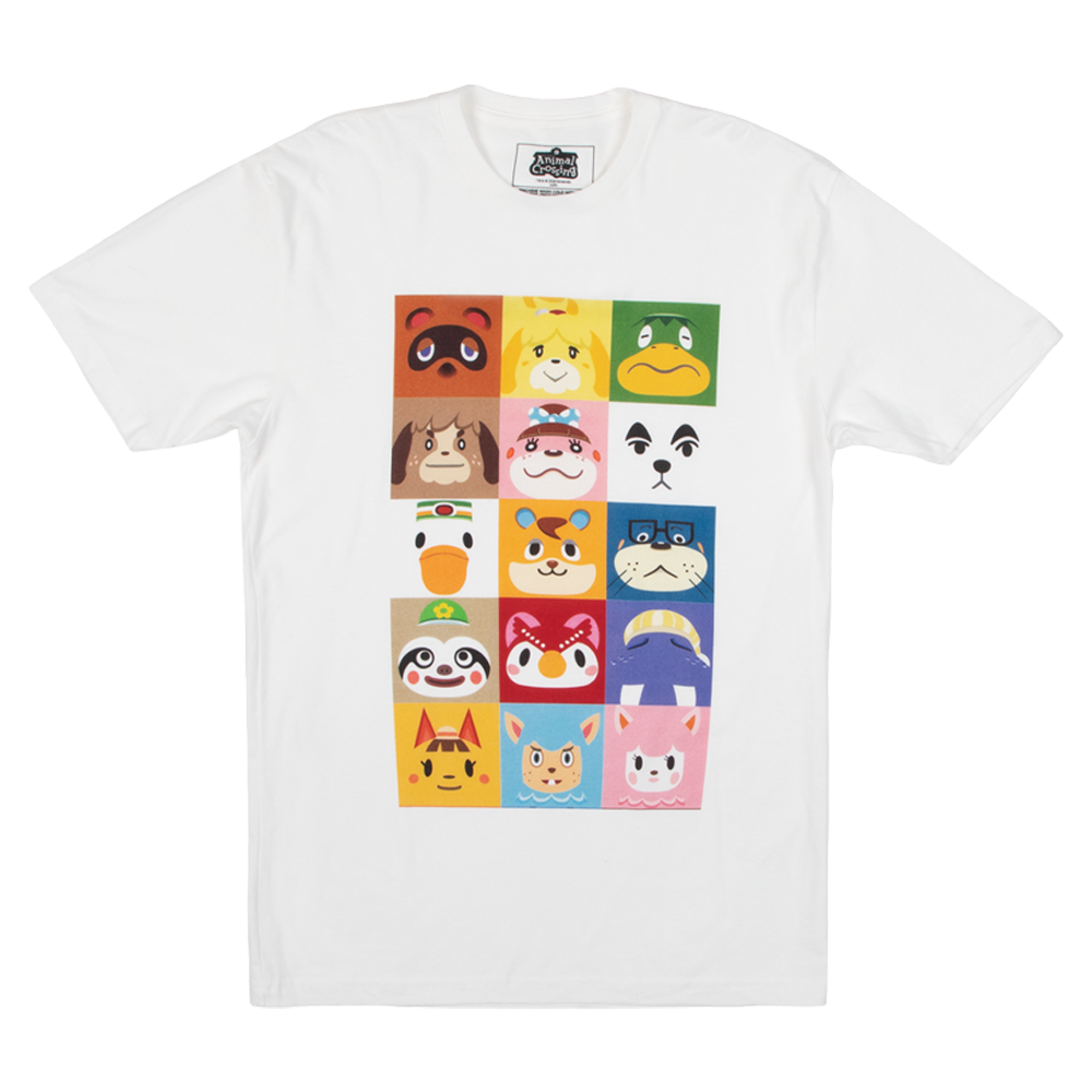 Animal Crossing Squares Tee