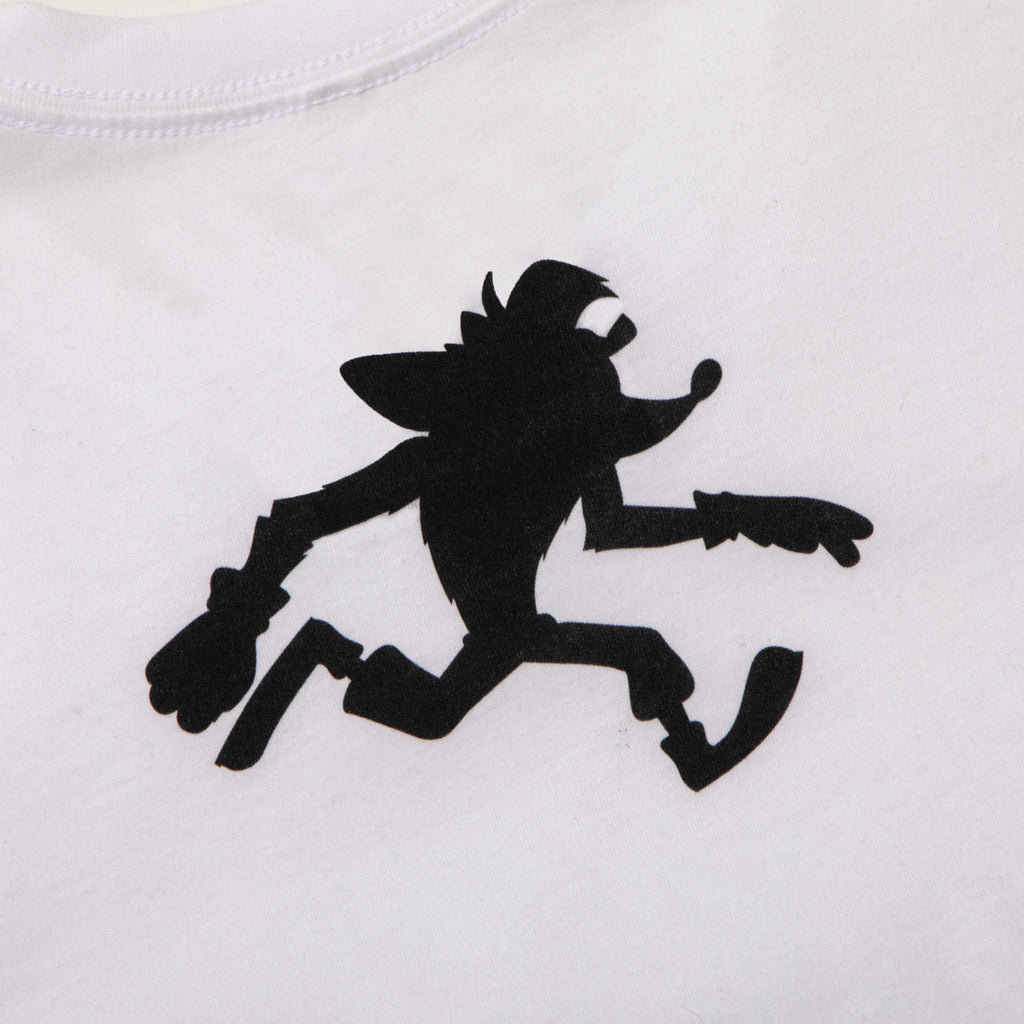 Crash Bandicoot Jump White Tee