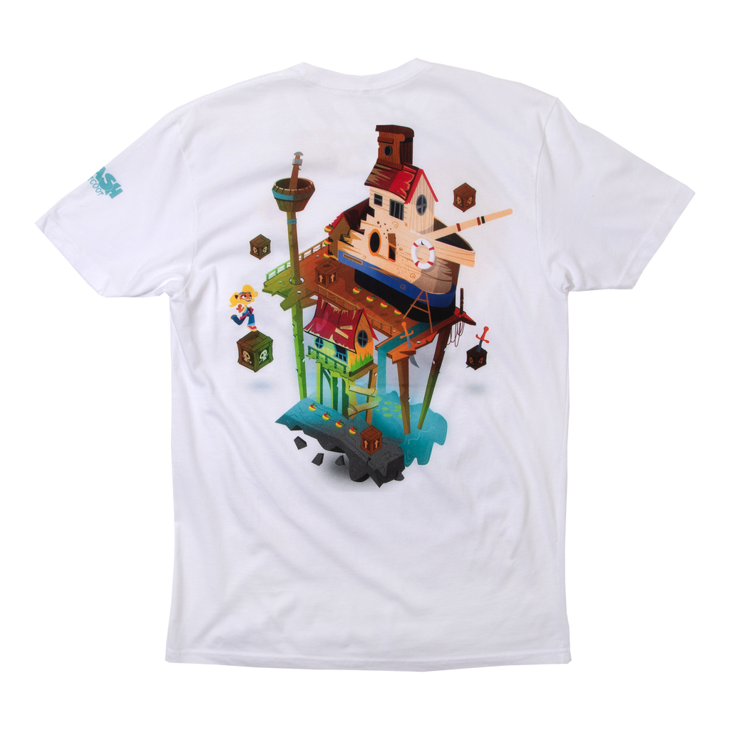 Crash Bandicoot Coco White Tee