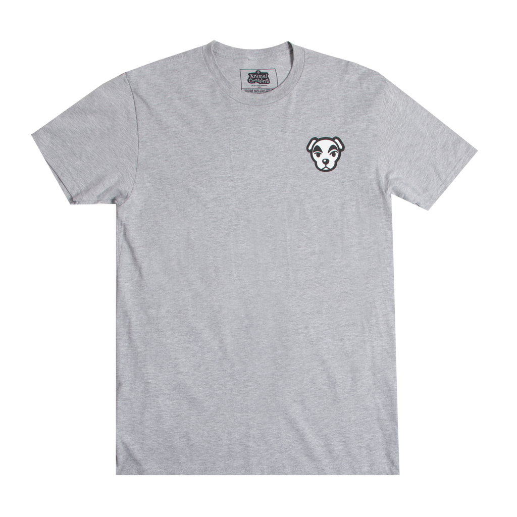 Animal Crossing K.K. Slider Kanji Grey Tee