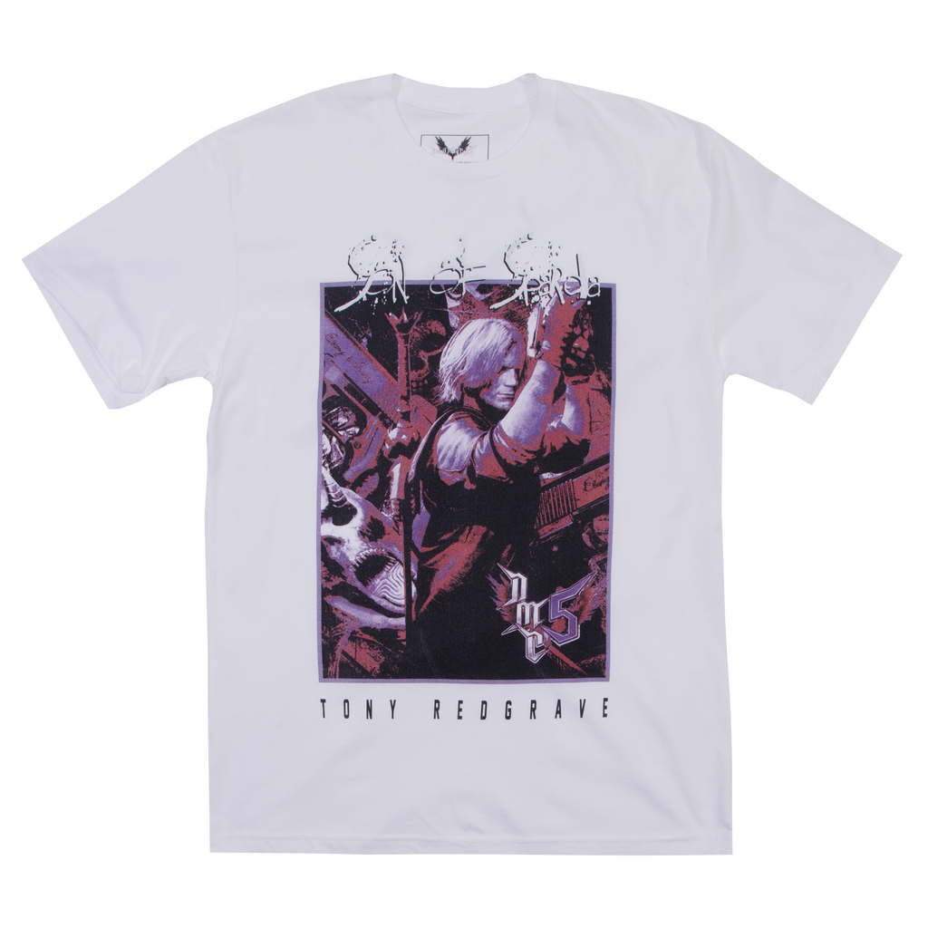 Devil May Cry V Dante White Tee