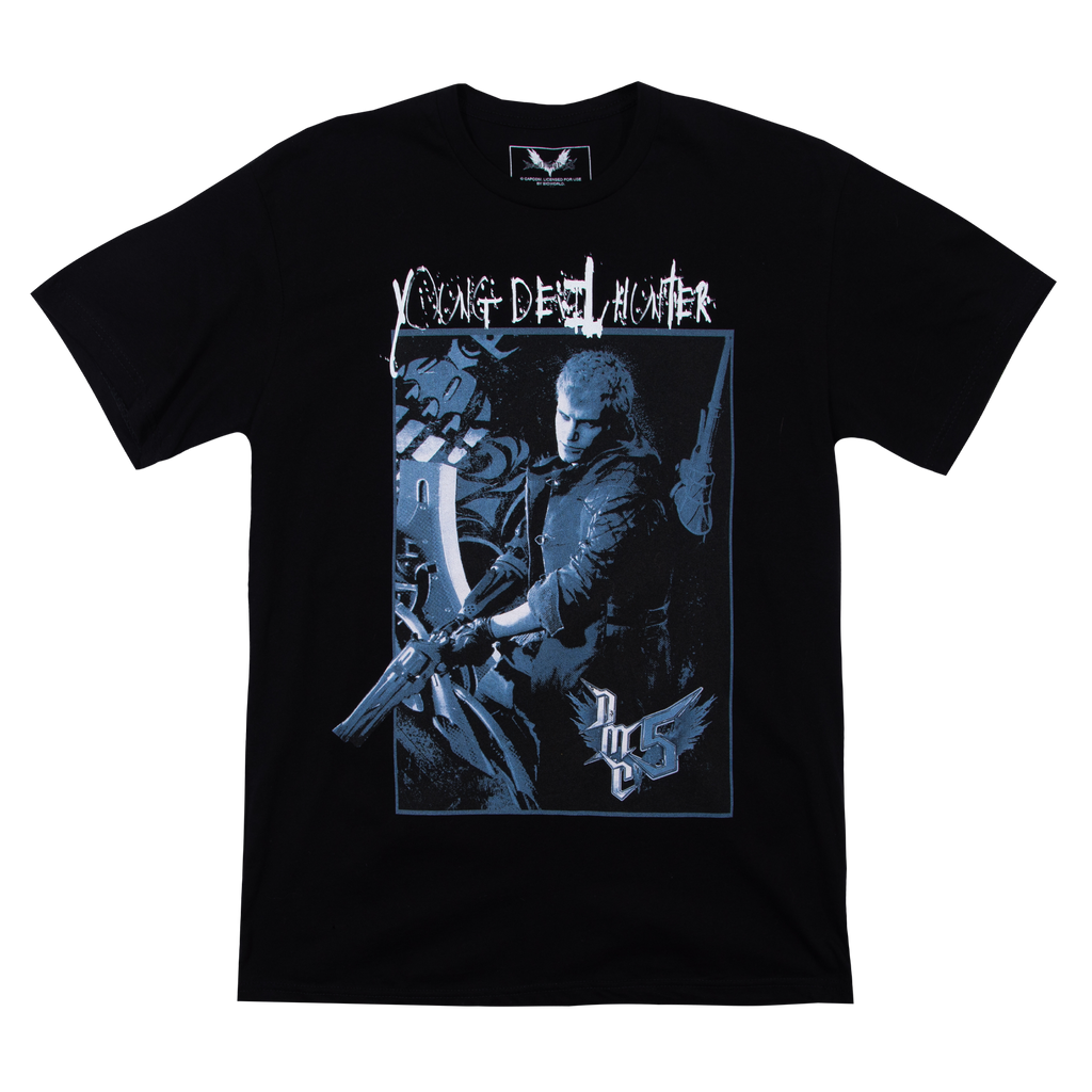Devil May Cry V Nero Black Tee