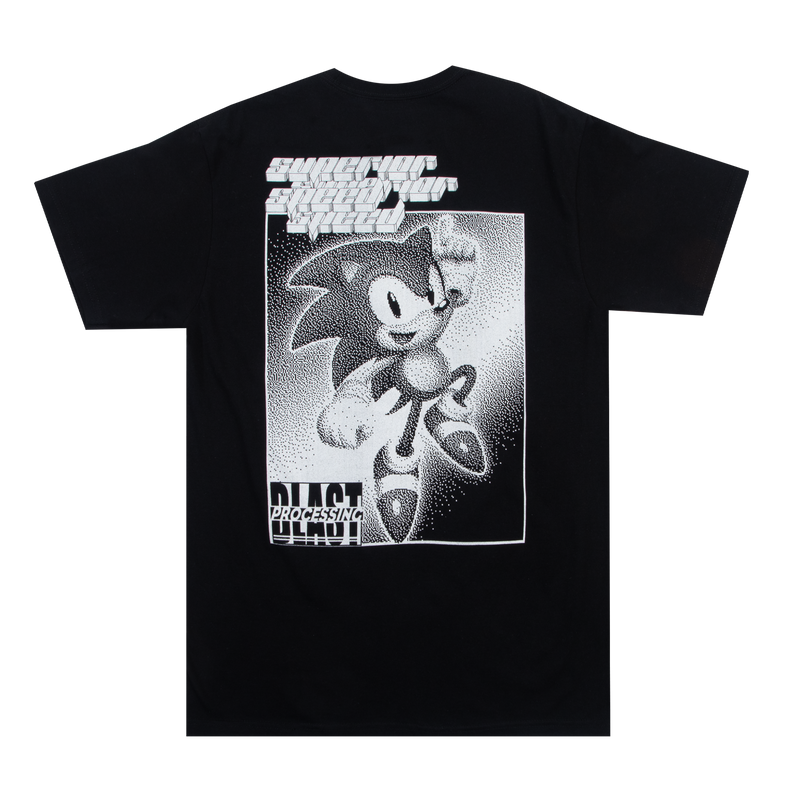 Sonic Mania Sonic the Hedgehog Black Tee