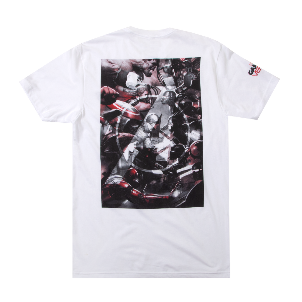 Marvel Avengers White Tee