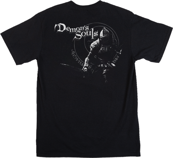 Demon's Souls Sigil Black Tee