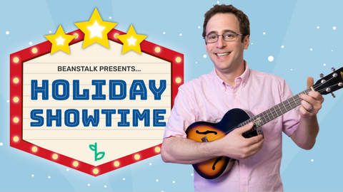 Holiday Online Activities for Kids Logo with Mr. David