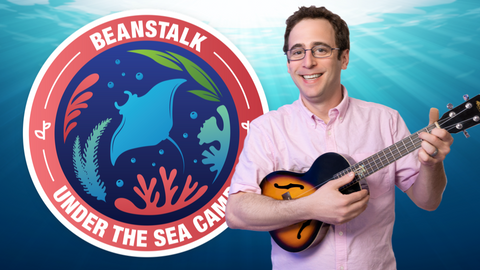 Under the Sea Online Activities for Kids Logo with Mr. David