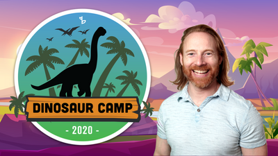 Welcome to Dinosaur Camp! It's Dino Show and Tell Time!