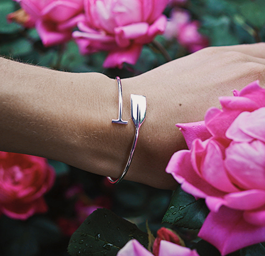 Unique Rowing Jewelry Bracelets from Strokeside Designs