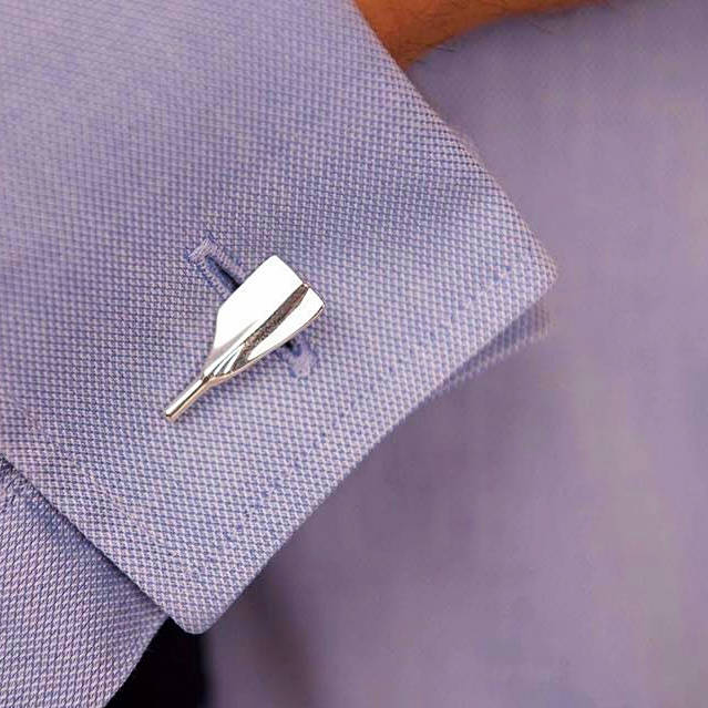 Rowing Cleaver Oar Cufflinks