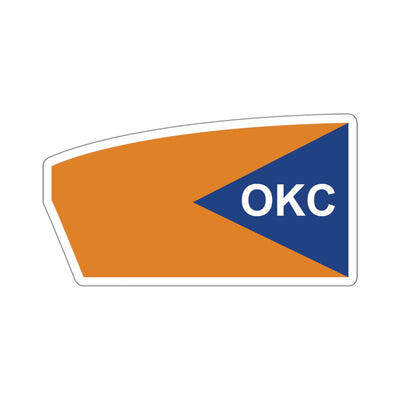 Oklahoma City Rowing_ Chesapeake Boathouse Sticker