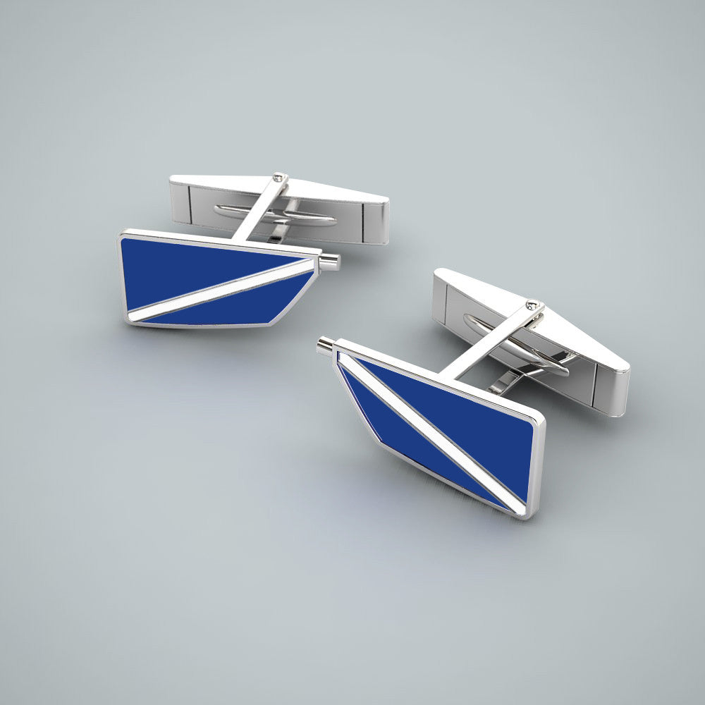 Rowing Custom Oar Cufflinks - Strokeside Designs Rowing jewelry- Rowing Gifts Ideas- Rowing Coach Gifts