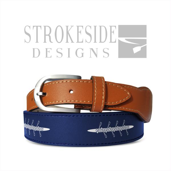 USRowing 8+ Belt - Strokeside Designs Rowing jewelry- Rowing Gifts Ideas- Rowing Coach Gifts