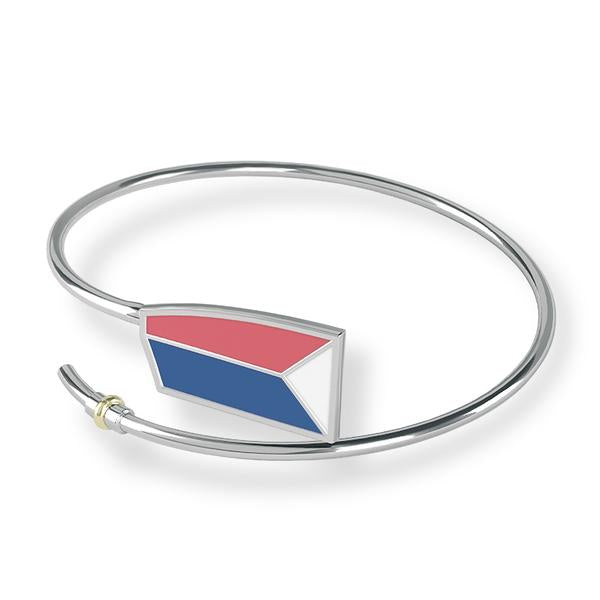USRowing Bracelet - Strokeside Designs Rowing jewelry- Rowing Gifts Ideas- Rowing Coach Gifts