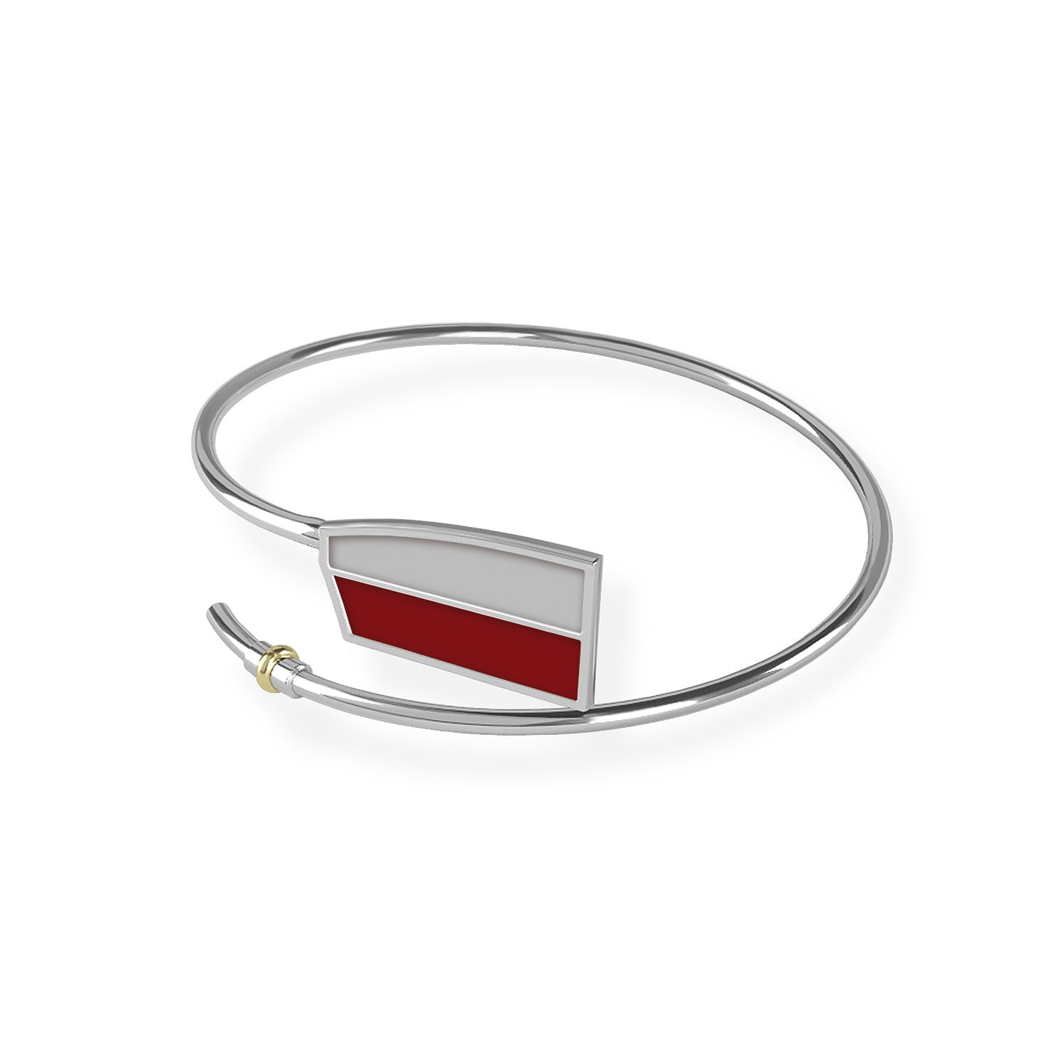 Vesper Bent Oar Bracelet - Strokeside Designs Rowing jewelry- Rowing Gifts Ideas- Rowing Coach Gifts