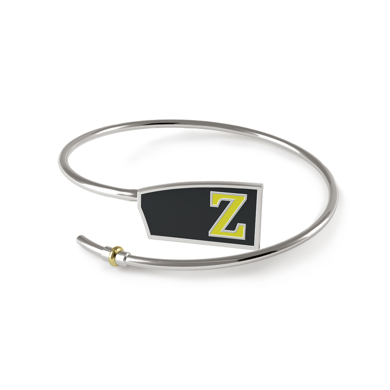 ZLAC Custom Oar Bracelet - Strokeside Designs Rowing jewelry- Rowing Gifts Ideas- Rowing Coach Gifts