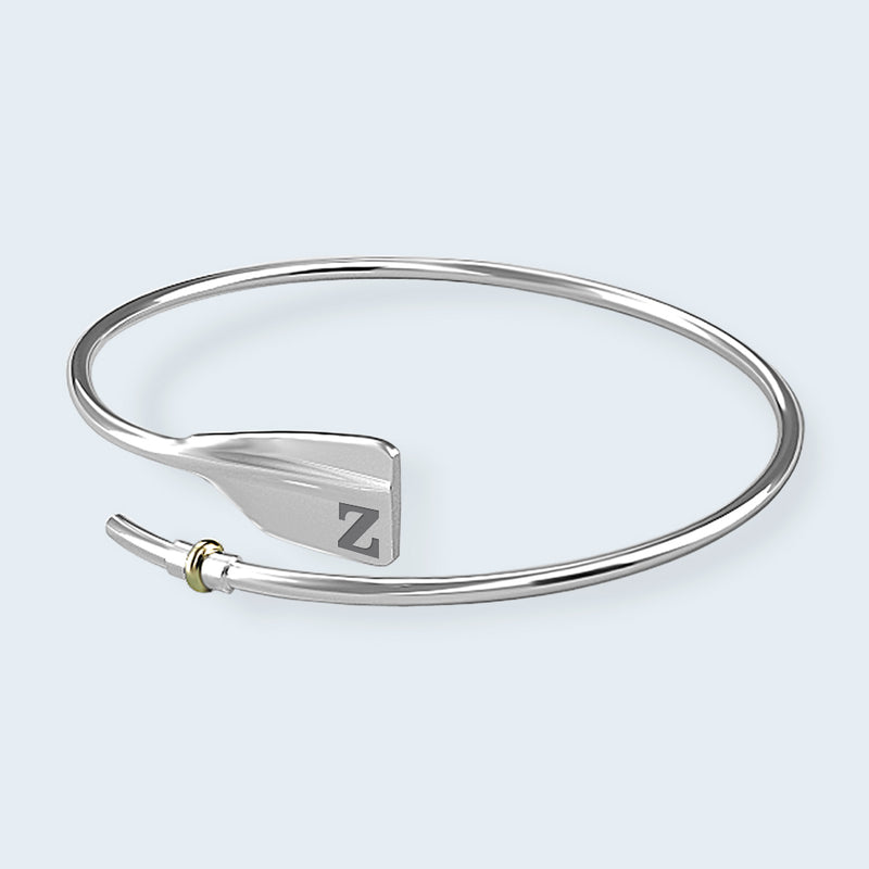 ZLAC Bent Oar Bracelet - Strokeside Designs Rowing jewelry- Rowing Gifts Ideas- Rowing Coach Gifts