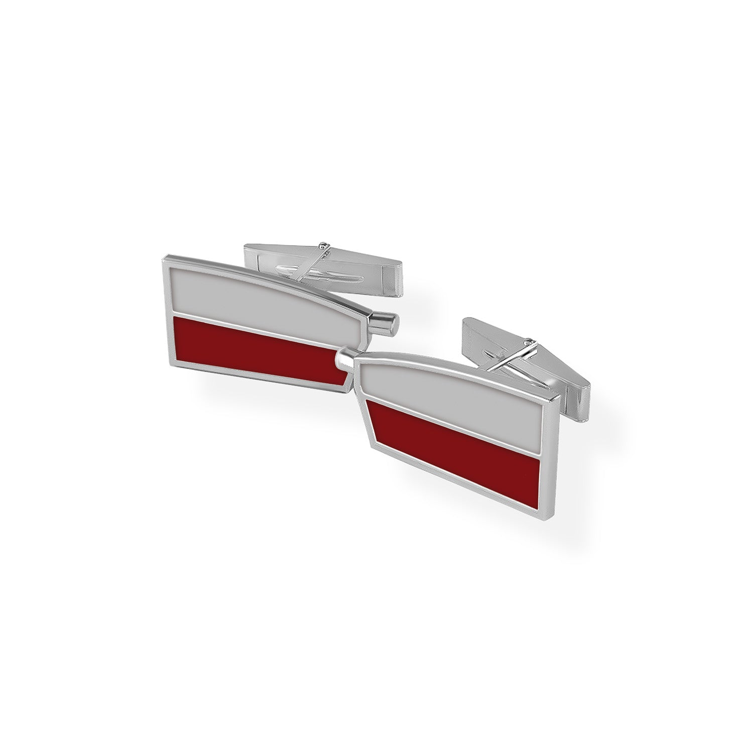 Vesper Cuff Links - Strokeside Designs Rowing jewelry- Rowing Gifts Ideas- Rowing Coach Gifts