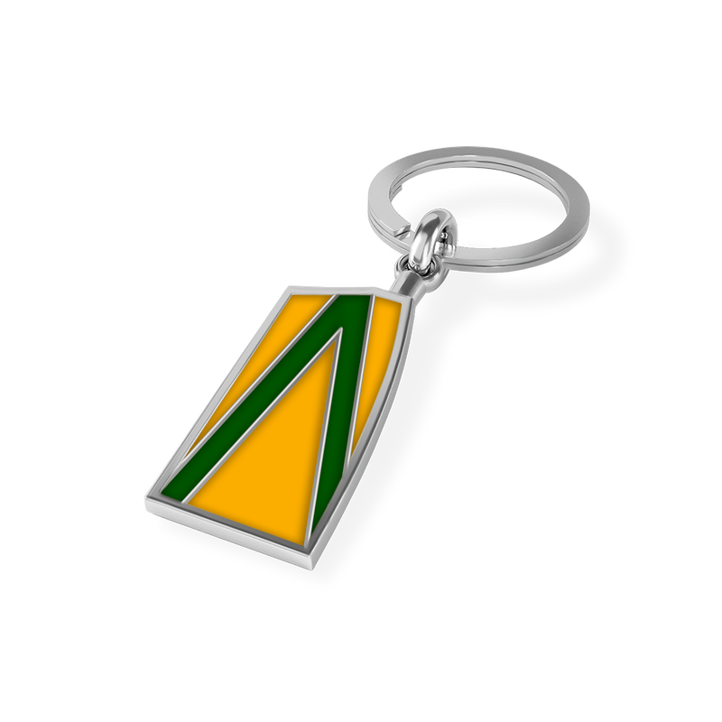 Navesink River Oar Key Chain