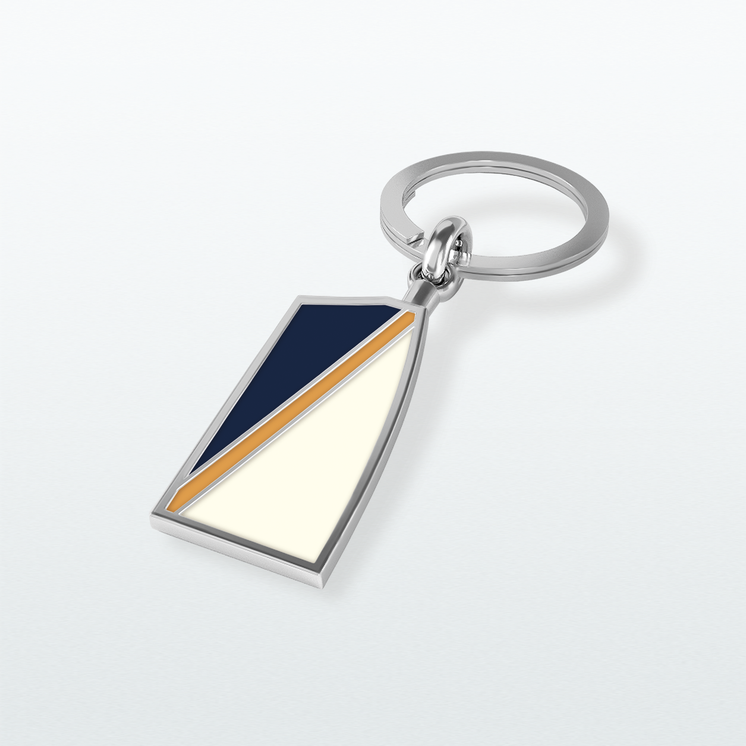 Unionville Key Chain - Strokeside Designs Rowing jewelry- Rowing Gifts Ideas- Rowing Coach Gifts