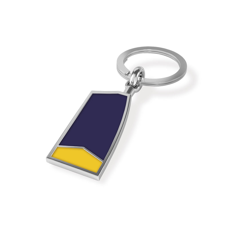 BCC Oar Key Chain - Strokeside Designs Rowing jewelry- Rowing Gifts Ideas- Rowing Coach Gifts
