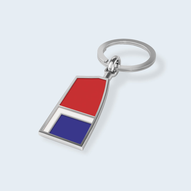 LLRC Key Chain - Strokeside Designs Rowing jewelry- Rowing Gifts Ideas- Rowing Coach Gifts