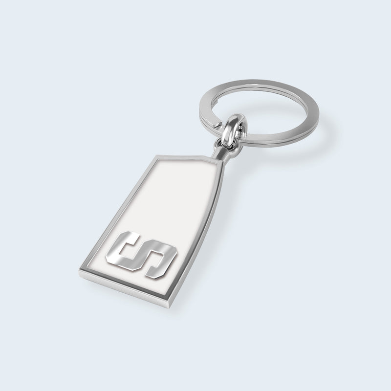 Sarasota Crew Key Chain - Strokeside Designs Rowing jewelry- Rowing Gifts Ideas- Rowing Coach Gifts