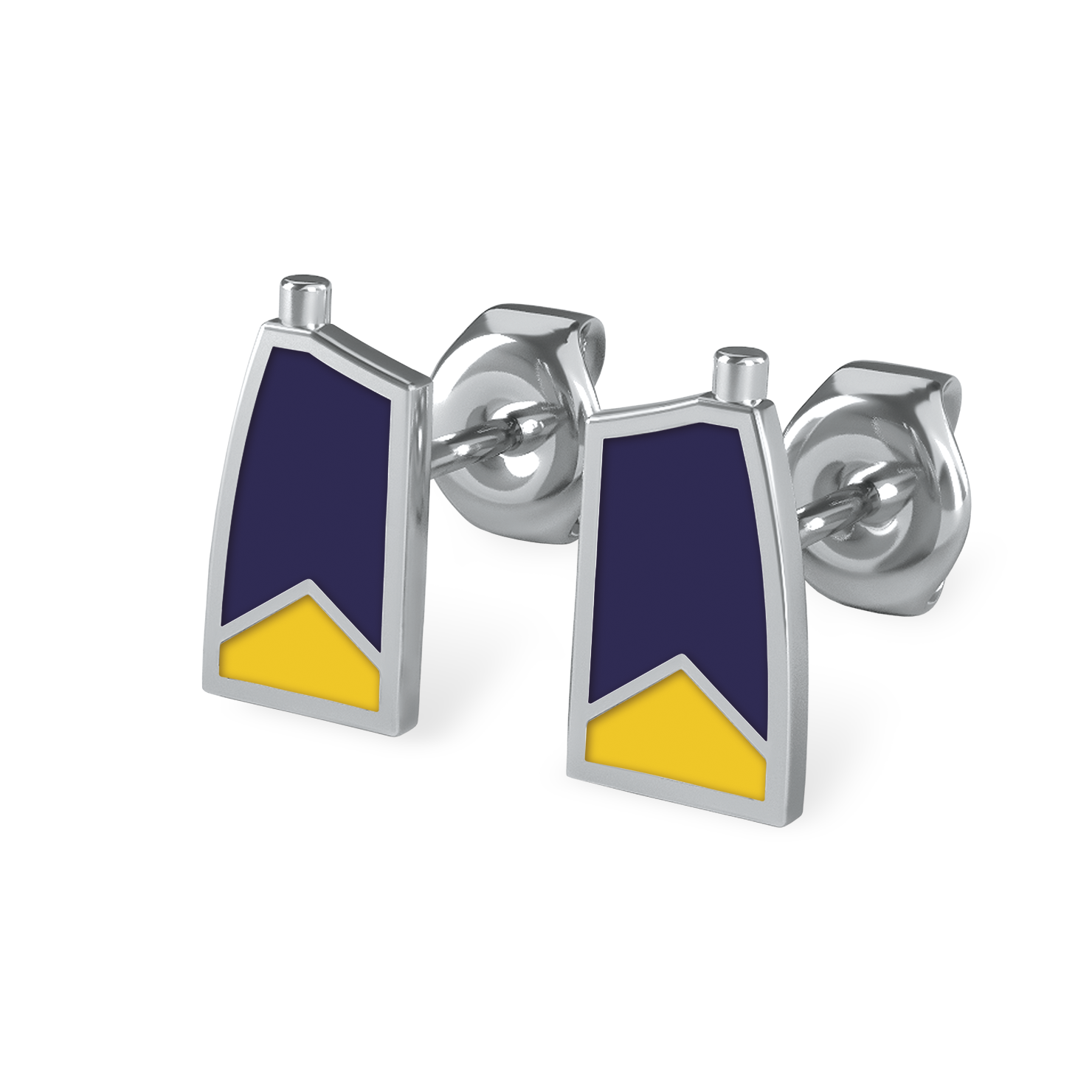 BCC Earrings - Strokeside Designs Rowing jewelry- Rowing Gifts Ideas- Rowing Coach Gifts