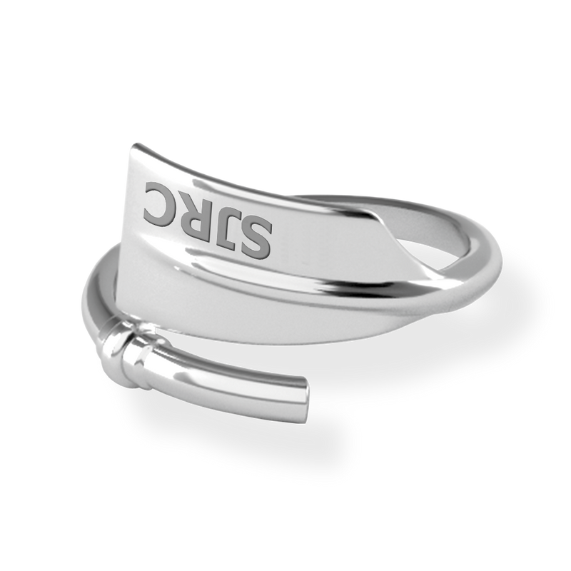 SJRC Oar Ring - Strokeside Designs Rowing jewelry- Rowing Gifts Ideas- Rowing Coach Gifts