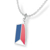 USRowing Pendant - Strokeside Designs Rowing jewelry- Rowing Gifts Ideas- Rowing Coach Gifts