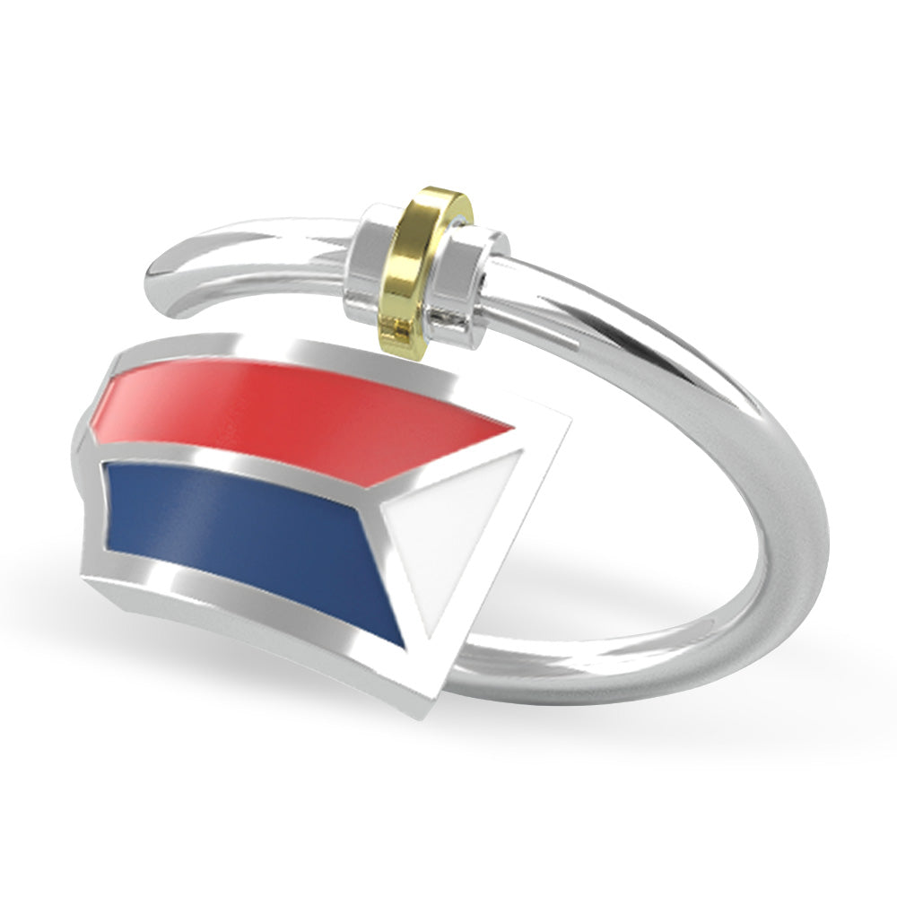 USRowing Ring - Strokeside Designs Rowing jewelry- Rowing Gifts Ideas- Rowing Coach Gifts