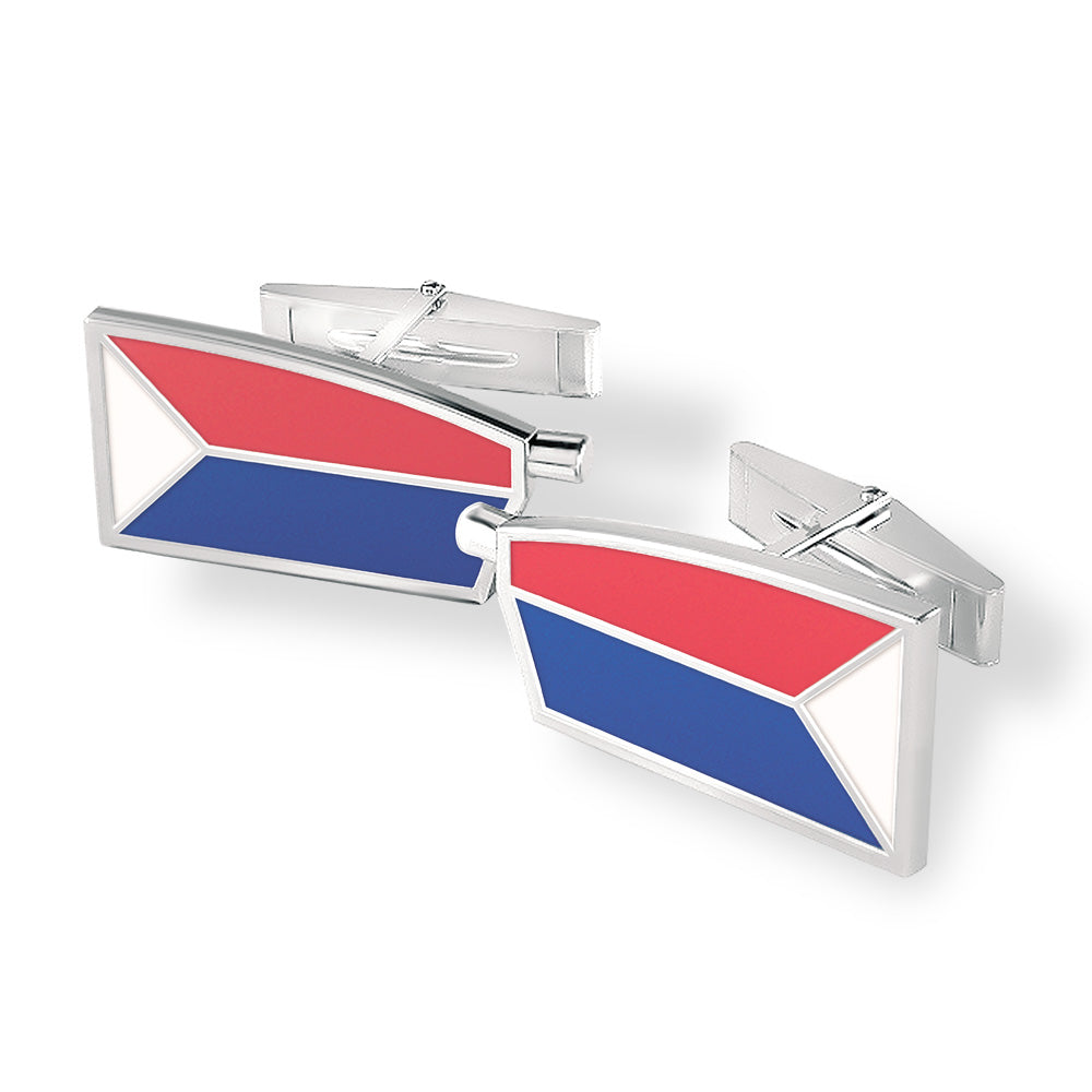 USRowing Cuff Links - Strokeside Designs Rowing jewelry- Rowing Gifts Ideas- Rowing Coach Gifts