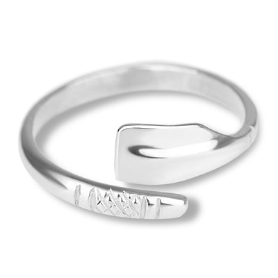 Rowing Handmade Oar Ring - Strokeside Designs Rowing jewelry- Rowing Gifts Ideas- Rowing Coach Gifts