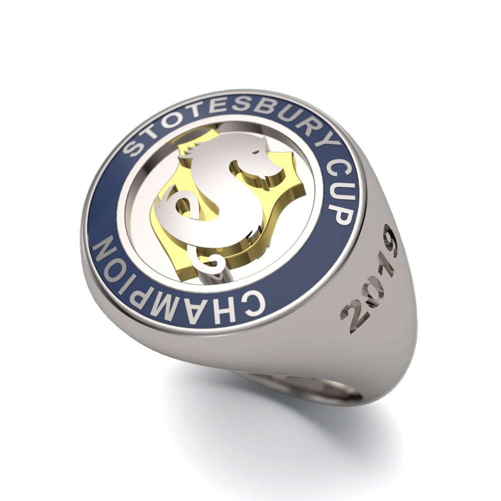Stotesbury Cup Championship Ring - Strokeside Designs Rowing jewelry- Rowing Gifts Ideas- Rowing Coach Gifts