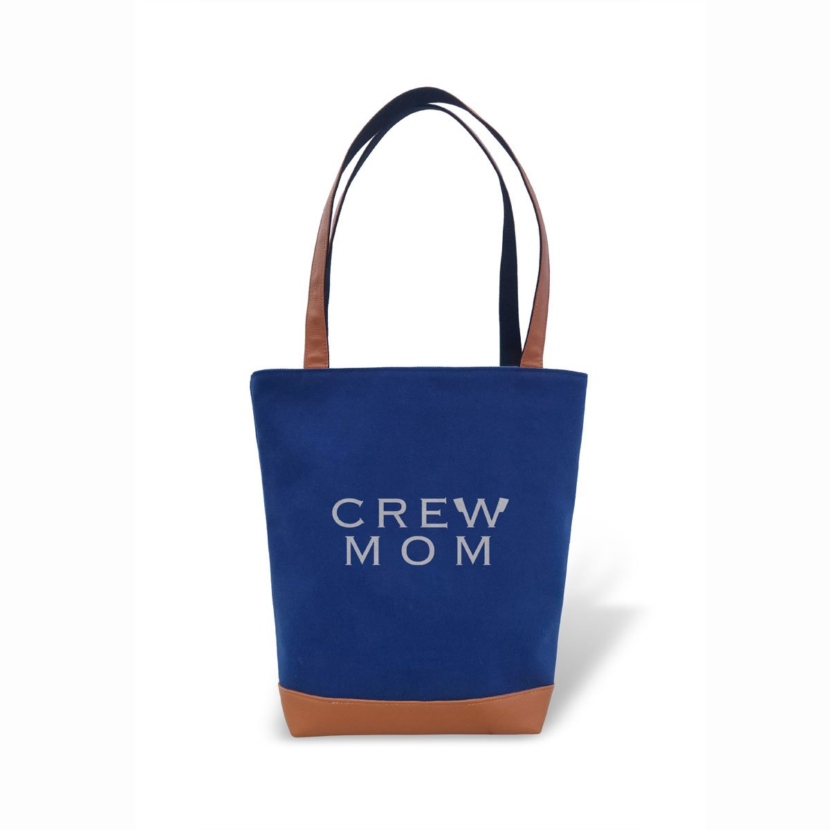 Tote Bag - Crew Mom - Strokeside Designs Rowing jewelry- Rowing Gifts Ideas- Rowing Coach Gifts