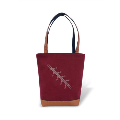 Rowing Tote Bag - Rowing Crew Gifts- Strokeside Designs Rowing jewelry- Rowing Gifts Ideas- Rowing Coach Gifts