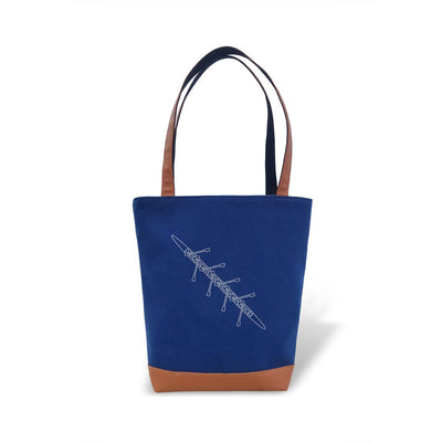 Tote Bag - Boat - Strokeside Designs Rowing jewelry- Rowing Gifts Ideas- Rowing Coach Gifts