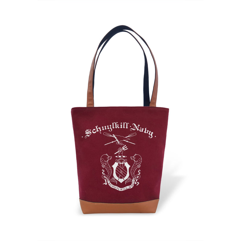 Tote Bag - Schuylkill Navy - Strokeside Designs Rowing jewelry- Rowing Gifts Ideas- Rowing Coach Gifts