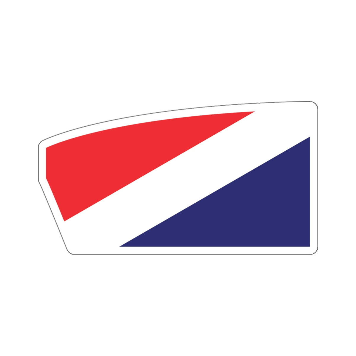 Long Beach Rowing Association Sticker