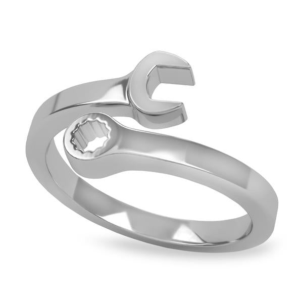 USRowing Wrench Ring - Strokeside Designs Rowing jewelry- Rowing Gifts Ideas- Rowing Coach Gifts