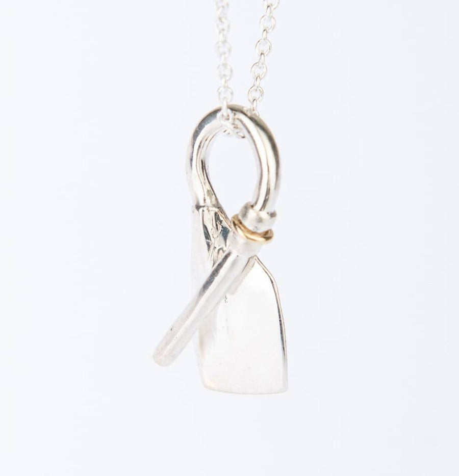 Rowing Bent Oar Pendant