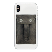 WHOLESALE - Wallet Phone Grip - FOSSIL GREY