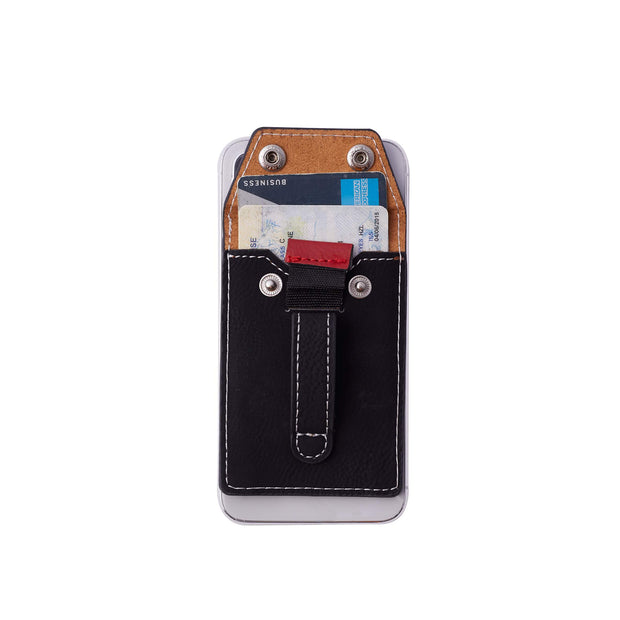 Wholesale - Wallet Phone Grip - BLUE PYTHON