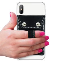 Load image into Gallery viewer, Wallet Phone Grip - BLACK