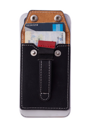 Wholesale - Wallet Phone Grip - BLACK